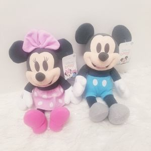 """Mickey Minnie Mouse 15"""" plushes kids toys new"""